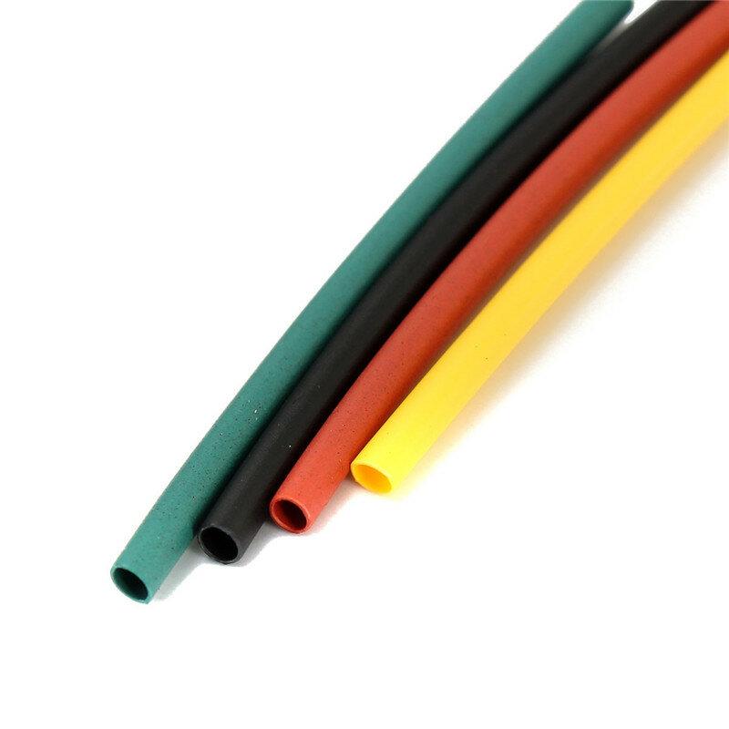 Tubo aislante termoencogible sin halógeno tubo aislante multicolor de poliolefina 2:1, surtido de tubos para envolver, 8 tamaños, 328 Uds.