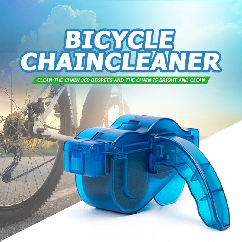 Detergente per catene per biciclette portatile spazzole per macchine pulite per biciclette strumento per lavaggio Scrubber pulizia per ciclismo in montagna accessori per esterni