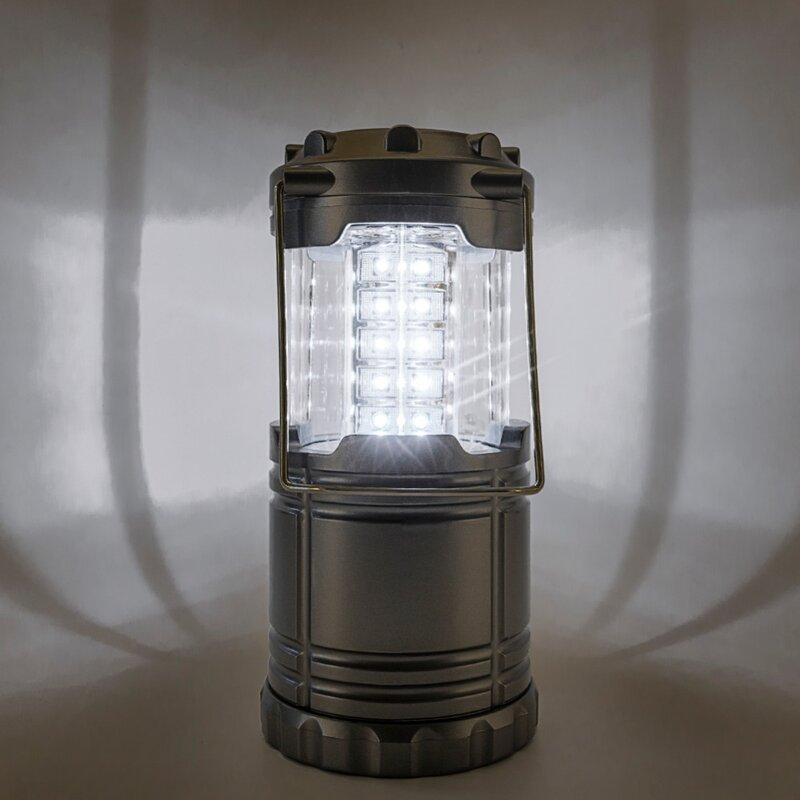 Lanterne portative De Camping Tente Suspendue Lumière Pliable 30 LED Léger De Secours De Lampe-Torche Linternas Pour Faire du Camping De Randonnée