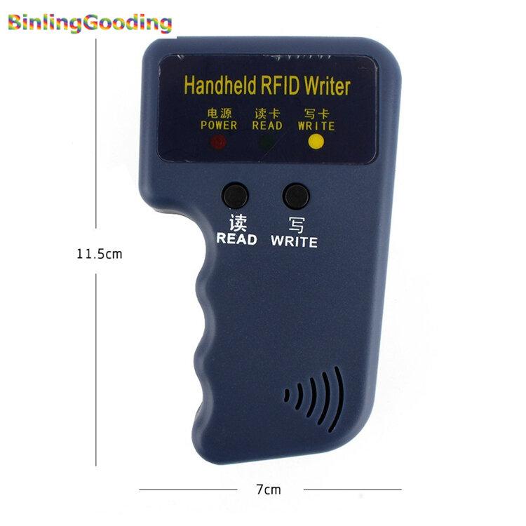 يده 125KHz تتفاعل ناسخة الكاتب RFID الناسخ EM ID ناسخة + 5 قطعة EM4305/T5577/CET5200 إعادة الكتابة Keyfobs