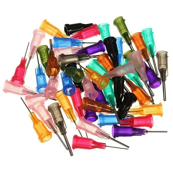 موزع غراء سائل لاصق بإبرة توزيع ، 50 قطعة ، بيع ساخن جديد ومفيد ، SMT SMD PCB ، بيع بالجملة