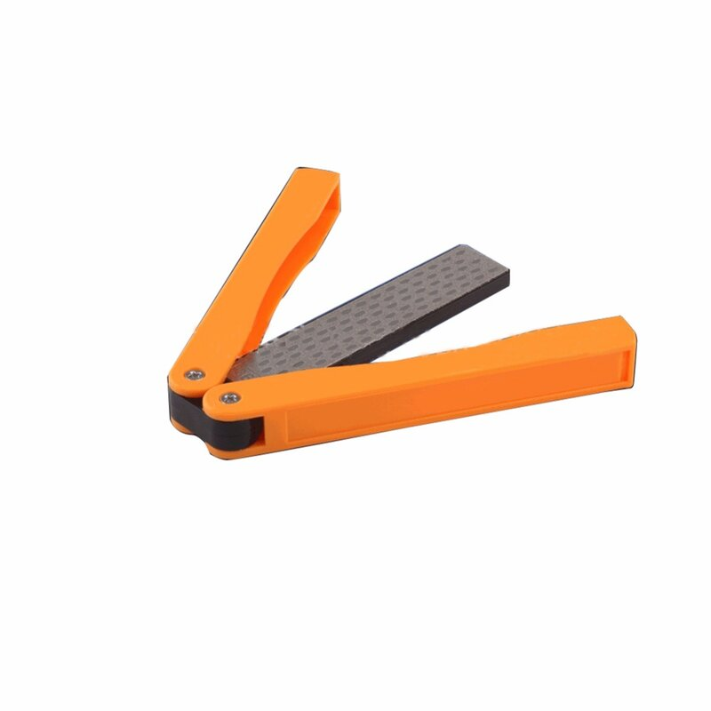 ขายร้อนกลางแจ้งมีด Sharpening หินถือคู่พับมีดเพชร Sharpening หิน BS