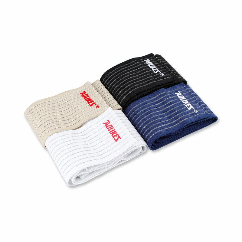 ALBREDA-Cinta de vendaje elástico para deporte, 90x7,5 cm, rodillera, almohadilla protectora de kinesiología para pierna y tobillo, envoltura de muñeca