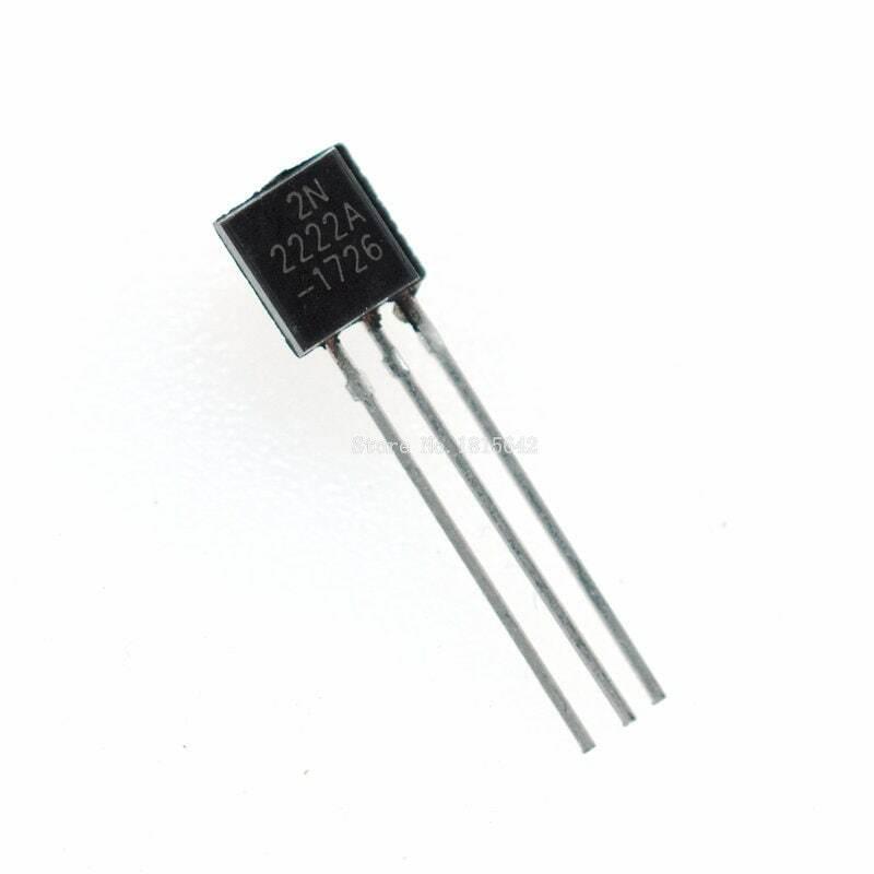 100 قطعة/الوحدة في خط 2N2222A الصمام الثلاثي الترانزستور NPN تبديل الترانزستورات إلى 92 0.6A 30V NPN 2N2222