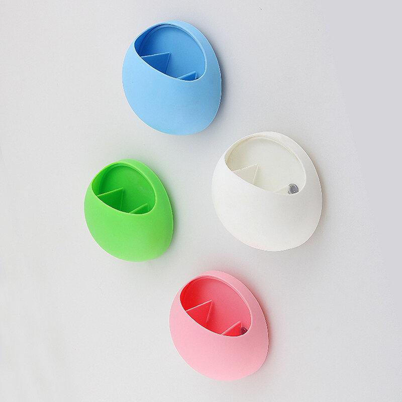 Dispenser di dentifricio per uova portaspazzolino ganci di aspirazione tazze organizzatore per cucina bagno tazza di stoccaggio montaggio a parete ventosa