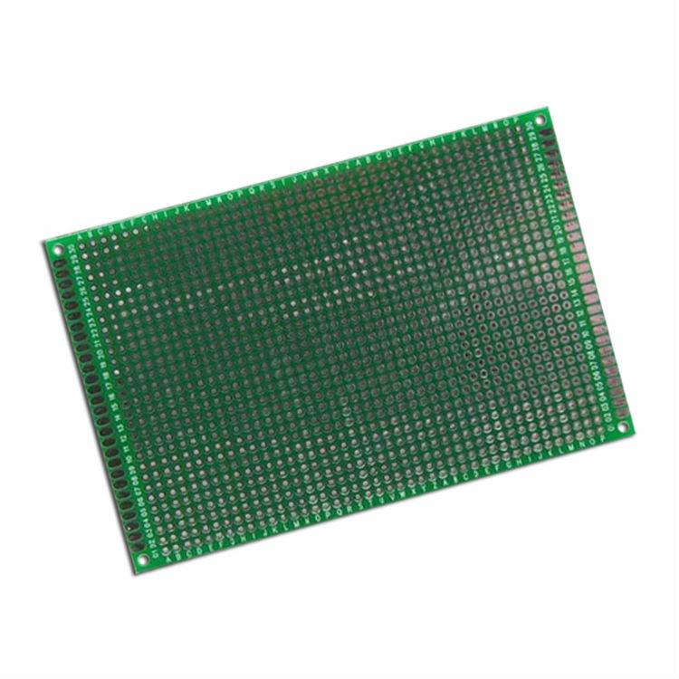 لوحة من القصدير لرش أحادي الجانب مقاس 8*12 سم ، لوحة تجربة شاملة PCB ، لوحة ثقب لاردوينو