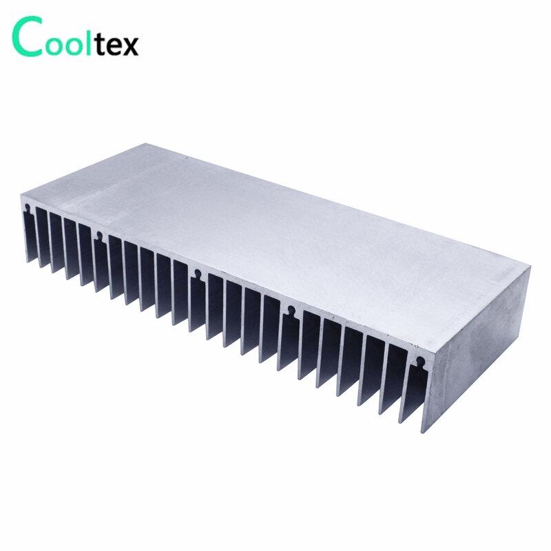 مشتت حراري من الألومنيوم مقذوف 150x60x25 مللي متر ، مبرد تبريد ، تبديد حرارة إلكتروني LED