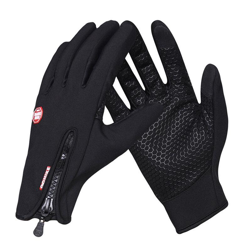 Gants d'équitation pour écran tactile, pour hommes, femmes et enfants, noir et Rose, tailles S/M/L/XL
