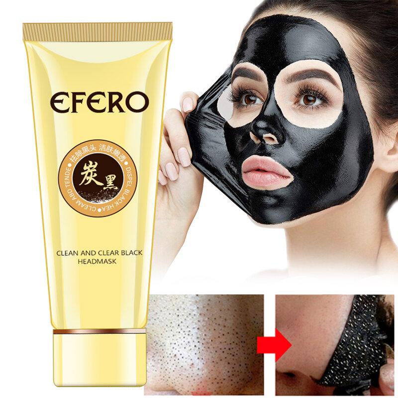 Di aspirazione Viso Maschera di Pulizia Profonda Viso Maschera Testa Nera Stile Strappare Resistere Fragola Naso Acne Remover Comedone Maschere di Fango