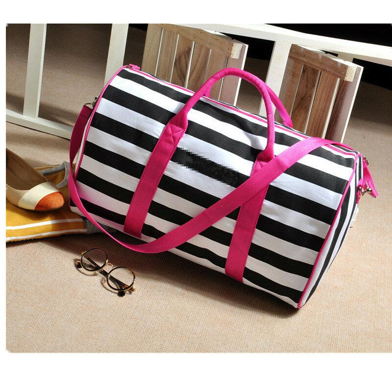 2020 donne famose marche borse di tela borsa a tracolla borse a tracolla da donna borsa da spiaggia a righe borse da viaggio