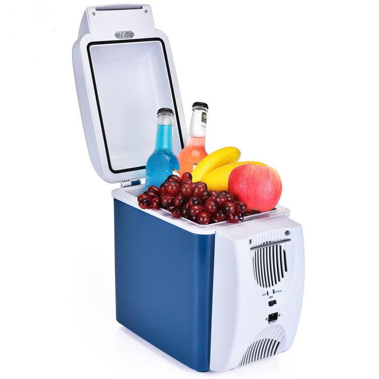 8.5L frigorifero Auto 12 V auto a casa a duplice uso mini frigo piccolo frigorifero domestico auto dormitorio calda e fredda scatola di raffreddamento