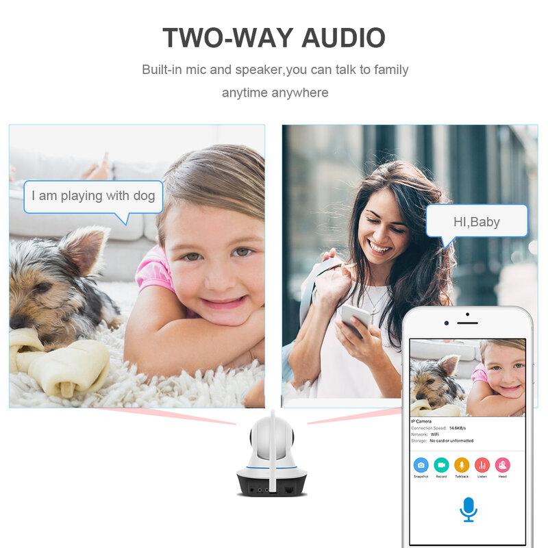 Vstarcam 1080P Macchina Fotografica del IP CS25 Auto Tracking Wifi di Sorveglianza di Sicurezza Della Macchina Fotografica di IR di Visione Notturna PTZ App Mobile View Audio parlare