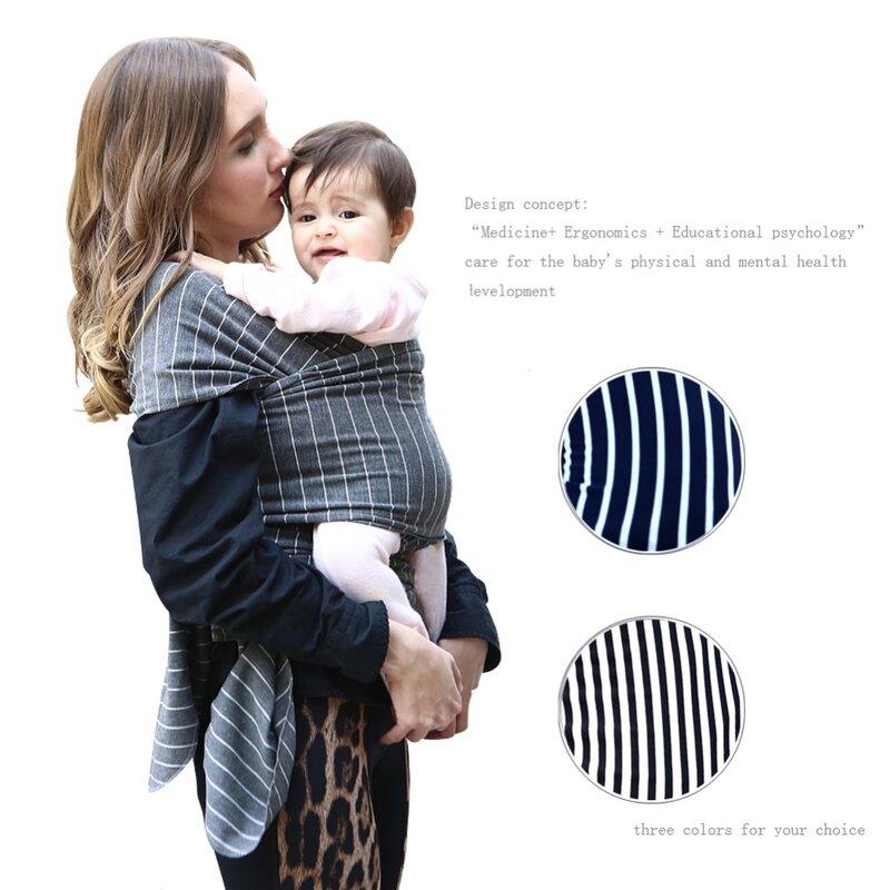 حاملة الطفل لحديثي الولادة ، غطاء ناعم مسامي للرضع ، غطاء تمريض مريح للولادة ، رمادي غامق