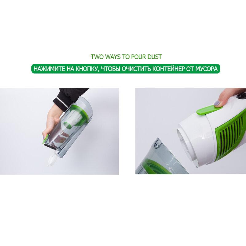 TintonLife 패션 프로모션 휴대용 울트라 조용한 진공 청소기 미니 핸드 헬드 흡입 기계 진드기 터미네이터