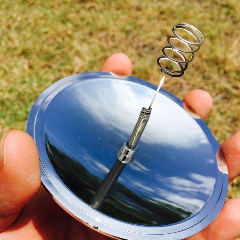 Camping Überleben Solar Feuerzeug Wasserdicht & Winddicht EDC Outdoor Notfall Werkzeug Getriebe Sport Wandern Camping Ausrüstung Outdoor
