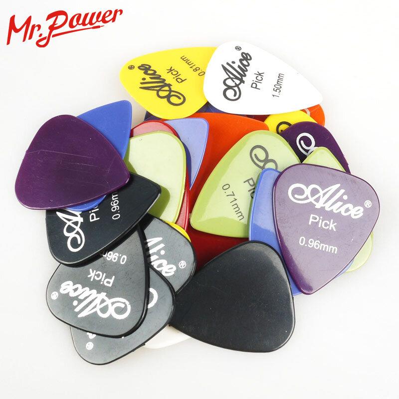 Plectres de guitare basse, ABS lisse, personnalisé, électrique, acoustique, accessoires, Instrument de musique, 30 pièces