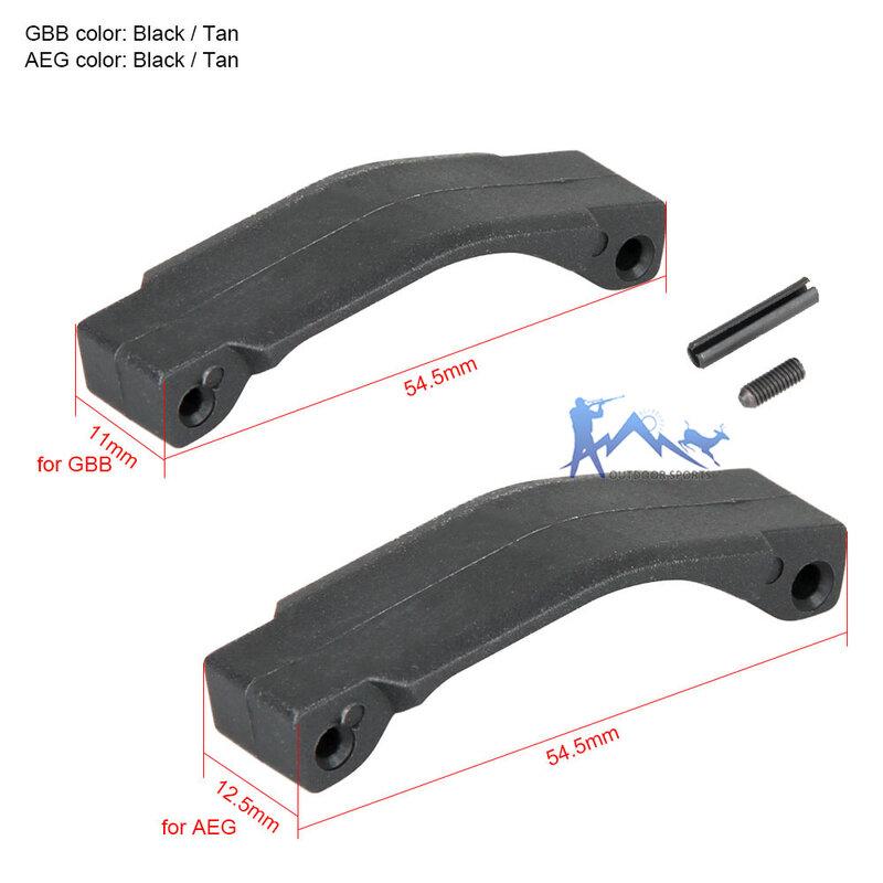PPT التكتيكية الأسود تان GBB AEG نمط الزناد الحرس ل في الهواء الطلق الصيد الألوان التبعي OS33-0185