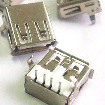 Glyduino الإلكترونية عنصر USB-A الأم USB المقبس قاعدة واجهة 90 درجة الانحناء قدم منحني إبرة USB