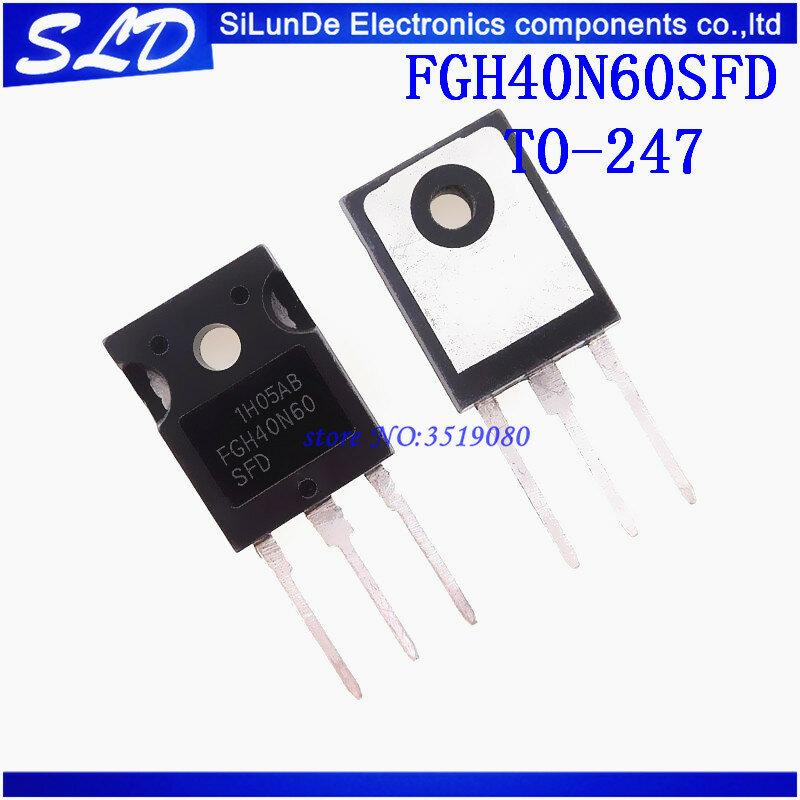 1 Unids Lote Fgh40n60sfd Fgh40n60 40n60 To 247 Nuevo Y Original En Stock Juegos Y Accesorios