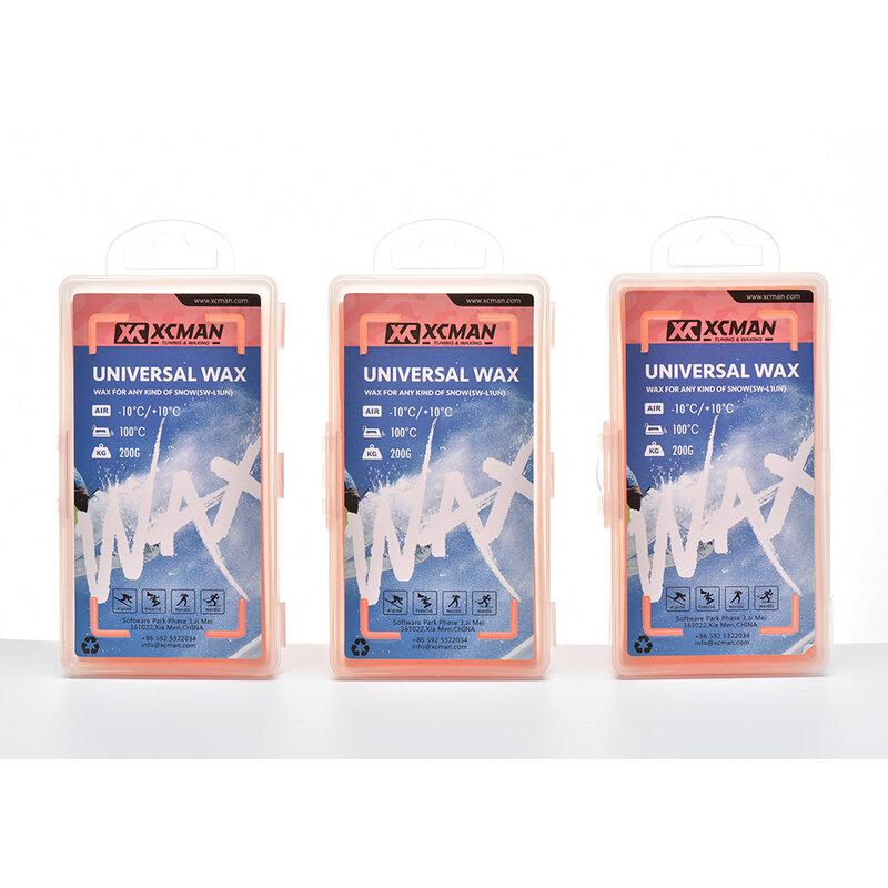 XCMAN-لوح تزلج عالمي ، لوح تزلج ، شموع 200 جم 400 جم 600 جم ، للاستخدام في أي نوع من الثلج