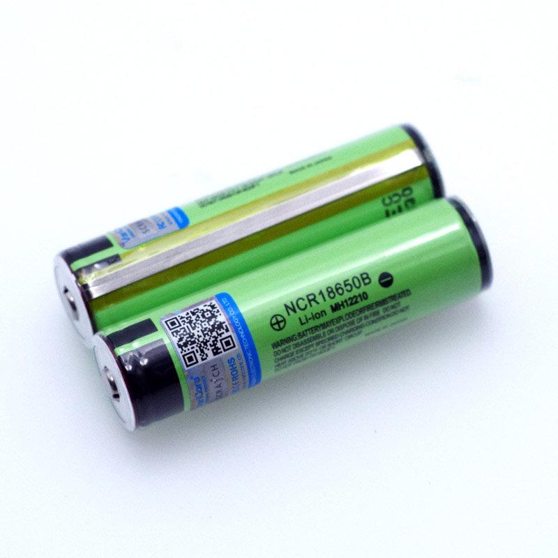 جديد الأصلي محمية 18650 NCR18650B قابلة للشحن بطارية ليثيوم أيون 3.7 فولت مع PCB 3400mAh لاستخدام بطاريات المصباح