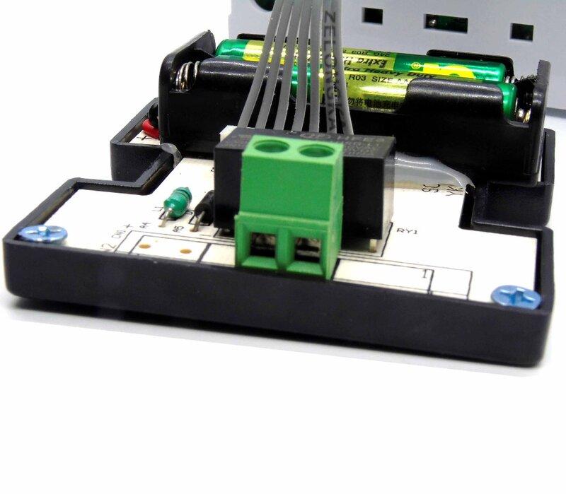 โปรแกรม Gas-Fired แขวนหม้อ Thermostat สำหรับควบคุม Centre แบตเตอรี่ AA 2 ก้อน (B702)