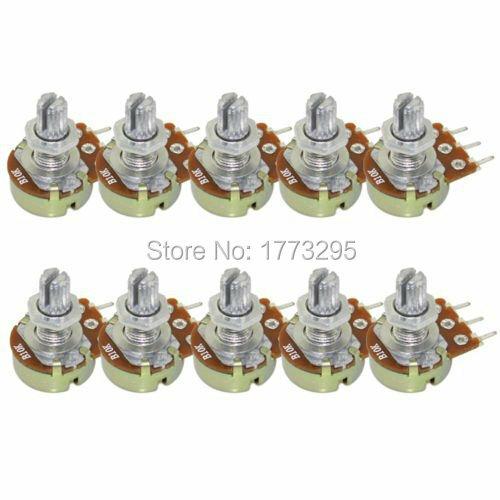 10 قطعة عالية الجودة WH148 B10K الخطي الجهد وعاء واحد مشترك 1K 2K 5K 10K 20K 50K 100K 250K 500K 1M 500 أوم لاردوينو
