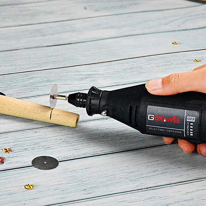 180 unids DIY Herramientas Eléctricas Dremel Mini Taladro Eléctrico Taladro de Velocidad Variable Profesional Carving Pulido de Molienda de Perforación