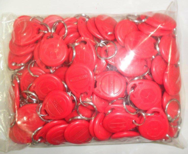 Il trasporto Libero 100 pz/lotto Carta RFID 125 KHz Smart Card TK4100 Rfid tag 8 Colori