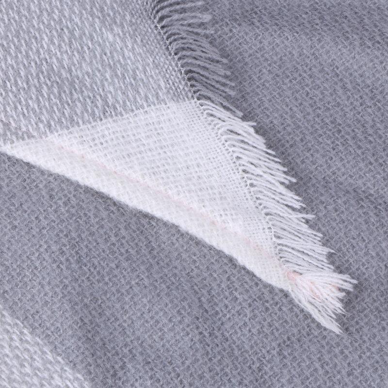وشاح شتوي نسائي مثلث ، شال مصمم ، شال كشمير منقوش ، بطانية دافئة وناعمة ، التوصيل المباشر OL082 ، 2020