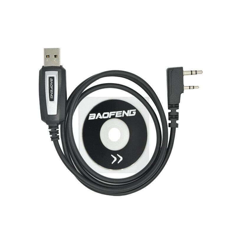 Baofeng USB البرمجة كابل UV-5R CB راديو يتحملها الترميز كابل K ميناء برنامج الحبل ل BF-888S UV-82 UV 5R اكسسوارات