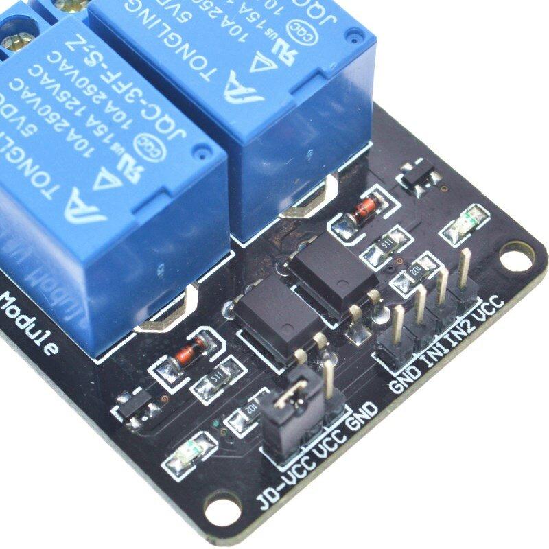 شحن مجاني 1 قطعة 5V 2 قناة وحدة التقوية درع ل Arduin الذراع PIC AVR DSP الإلكترونية. نحن الشركة المصنعة