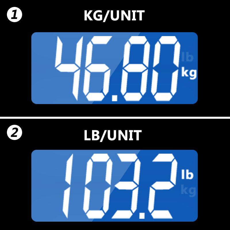 GASON A2 ห้องน้ำ Body เครื่องชั่งน้ำหนักอิเลคทรอนิคส์แบบดิจิตอลน้ำหนัก Bariatric LCD Display 180KG/50G