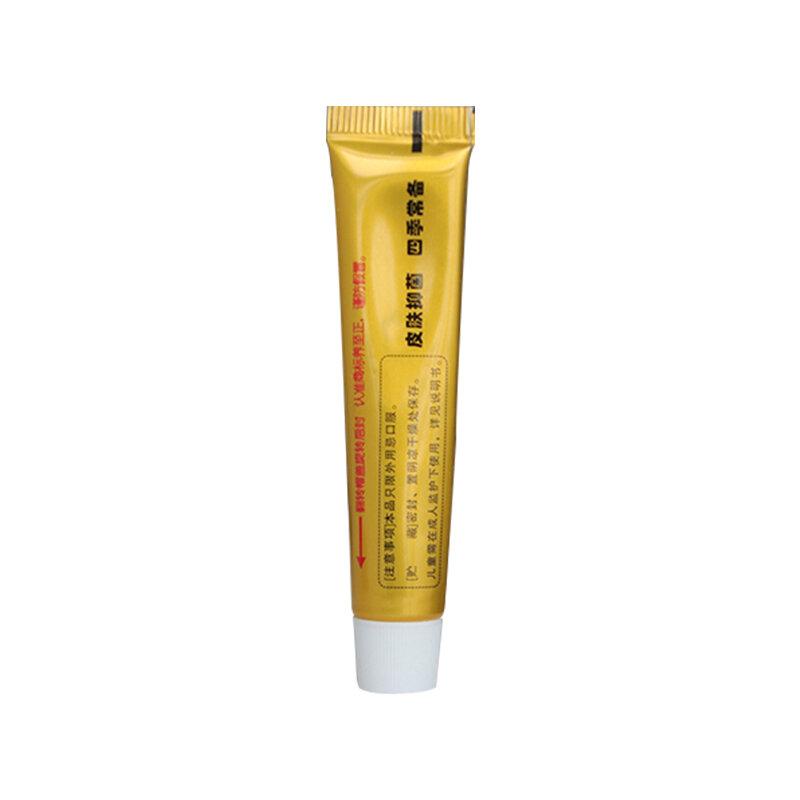 10 teile/los YIGANERJING Haut Psoriasis Creme Dermatitis Eczematoid Ekzeme Salbe Behandlung Psoriasis Creme Haut outBOX