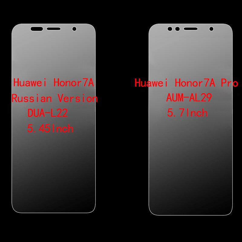 Por Honor 7A Dua-L22 de templado de vidrio de Honor 7A 5,45 Film Protector de pantalla 9H Protector de vidrio para Huawei Honor 7A Pro AUM-AL29