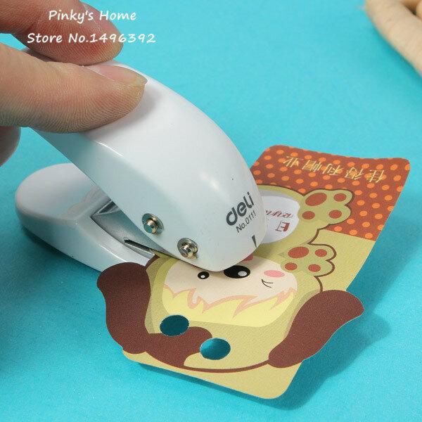 Poinçon pour Mini cartes en papier, artisanat, motif de cercle, Scrapbooking, perforateur de trou, papeterie de bureau pour enfant étudiant, 1 pièce