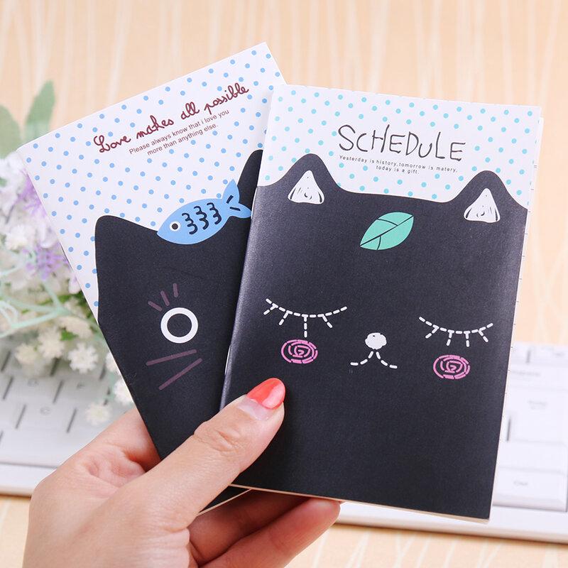 دفتر ملاحظات صغير على شكل قطة لطيفة ، للطلاب ، المفكرة ، القرطاسية المدرسية