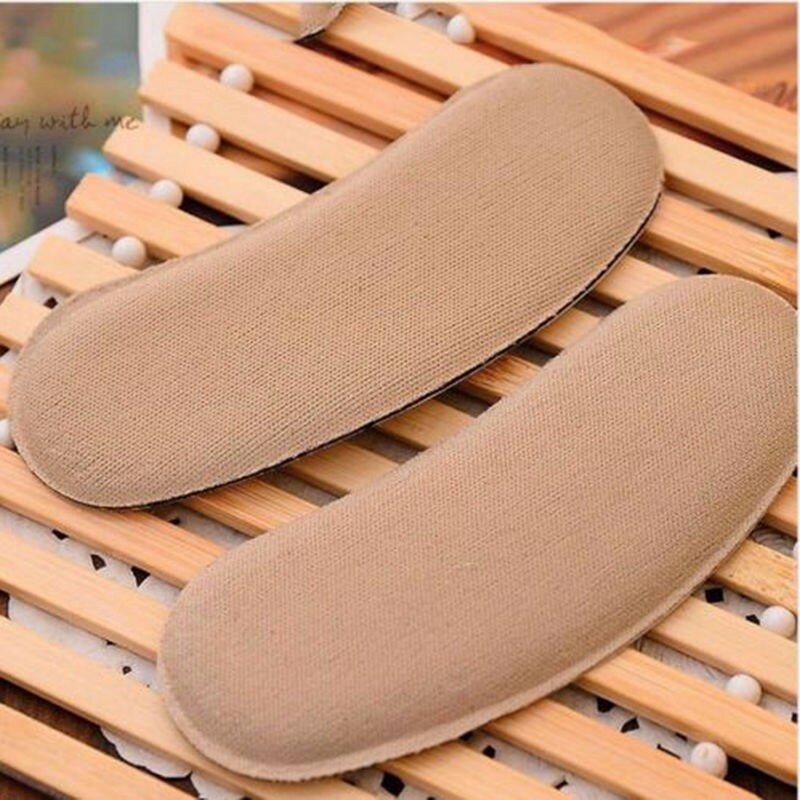 Gootrades 5 Accoppiamenti Morbida Appiccicoso Scarpa In Tessuto Posteriore del Tallone Inserti Solette Pad Cuscino Fodera