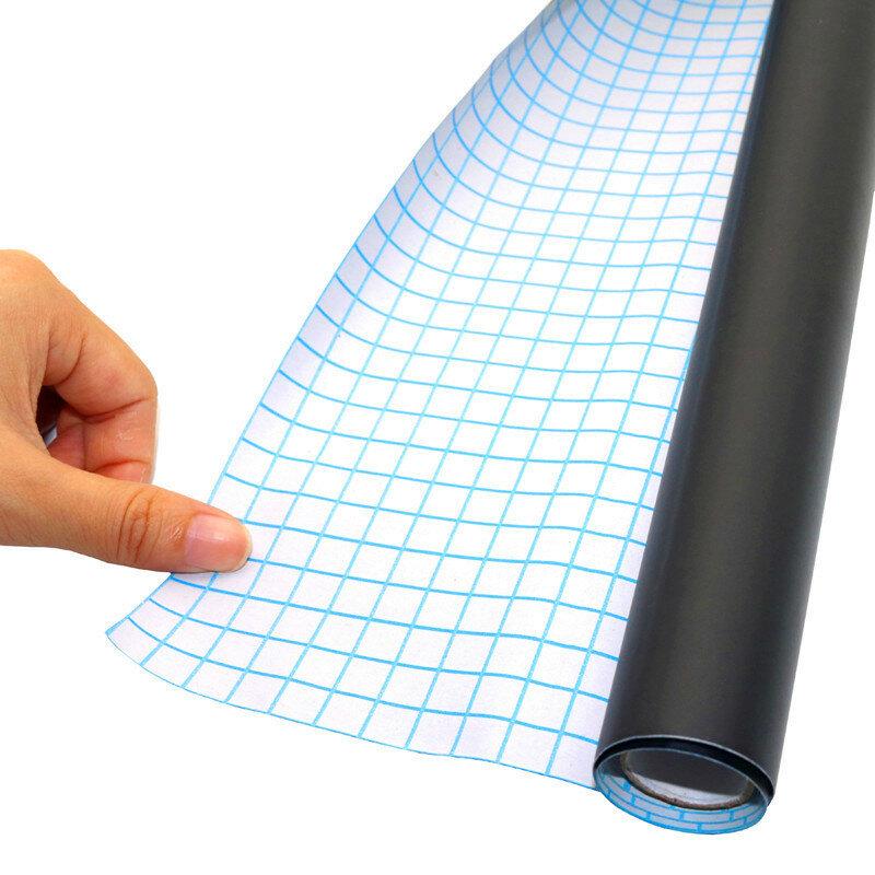 1 Pc 45x100cm adesivi per lavagna rimovibile vinile disegna lavagna cancellabile apprendimento ufficio bacheca bacheca