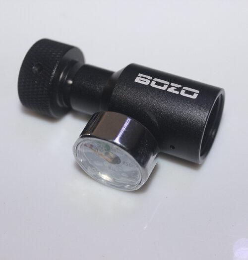 ใหม่ CO2 กระบอก PCP ยิง Universal เติมอะแดปเตอร์ 1500psi gauge (Multi - color) remote On/Off ASA paintball