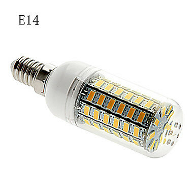 7 W E26/E27/G9/E14 LED 옥수수 조명 69 SMD 5730 따뜻한 화이트/쿨 화이트 LED 전구 650LM 110 V/220 V 360 5 pcs