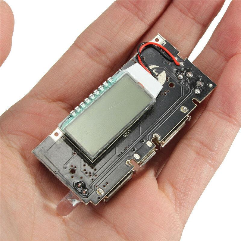 Dual USB 5V 1A 2.1A Mobile Power Bank 18650 Batterie Ladegerät PCB Power Modul Zubehör Für Telefon DIY LED LCD modul Bord