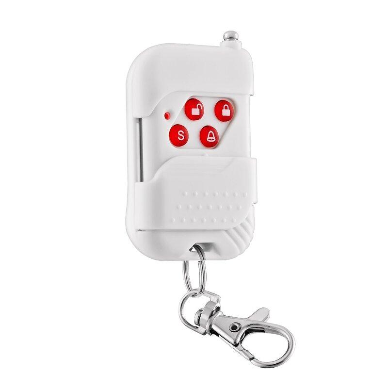 KERUI-زر لاسلكي للتحكم عن بعد لنظام إنذار الأمان ، 433 ميجاهرتز ، GSM/PSTN ، KERUI ، wi-fi ، للمنزل