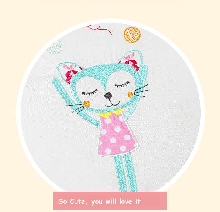 1-14 unids/lote Protector de parachoques para cuna infantil, cuna de algodón para niños, cuna, cama para niños, oso de peluche, parachoques para niños y niñas
