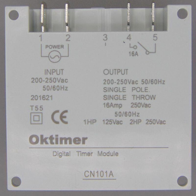 OKtimer CN101A AC 220V 230V 240V Digitale LCD Power Timer Programmierbare Zeit Schalter Relais 16A timer CN101 timer