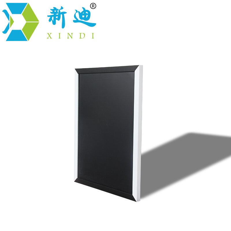 XINDI-سبورة مغناطيسية بإطار خشبي أبيض وأسود ، لوحة تدليك للمنزل بإطار خشبي MDF 25*35 سنتيمتر