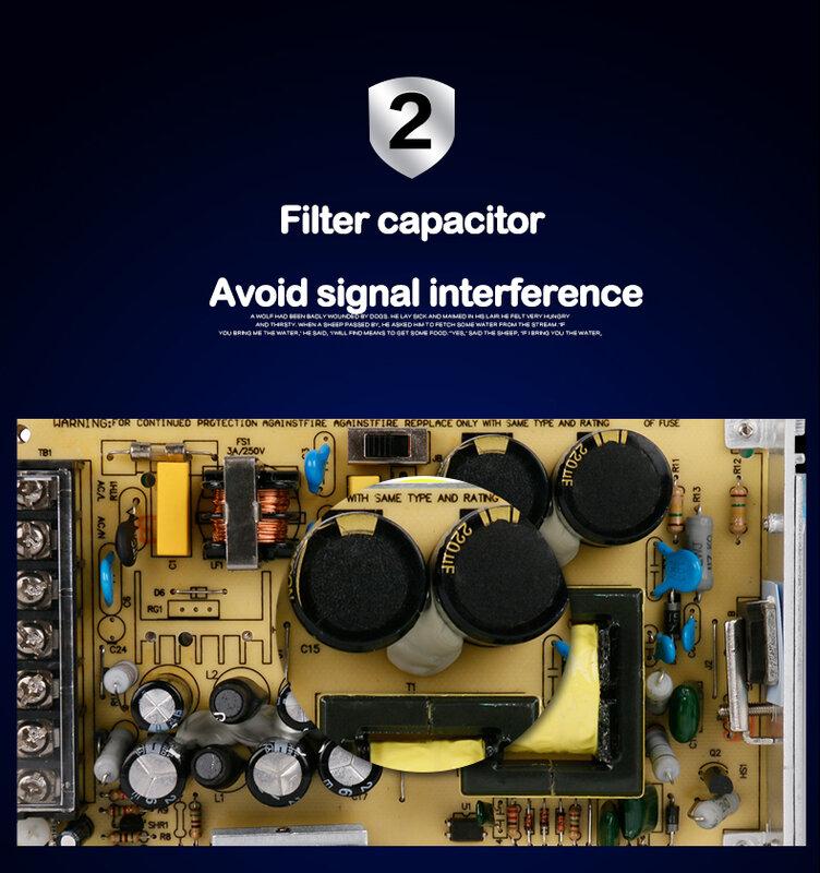 1 قطعة 100% الأصلي الحقيقي الطاقة 12W 24W 36W 60W 120W AC 100V 110V 127V 220V 230V إلى DC 12V Led قطاع امدادات الطاقة DC led سائق