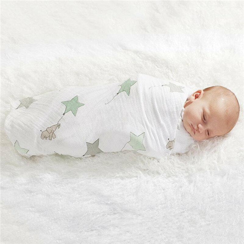 Mantas de muselina para bebé recién nacido, suministros suaves de fibra de bambú, envoltura multifuncional para bebé, Toalla de baño de gasa