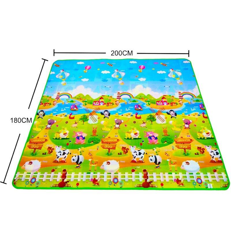 IIMIWEI-alfombra de juegos para bebé, Alfombra de desarrollo, puzles de espuma Eva, para guardería, envío directo