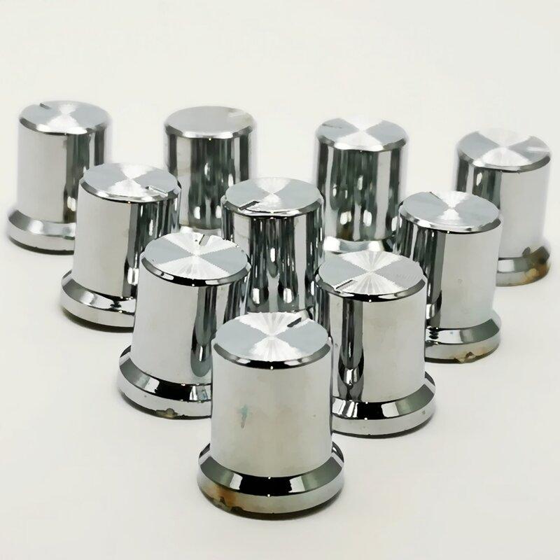 10 Uds Rotary perillas de codificadora botones de Control de volumen potenciómetro 6mm perilla de eje